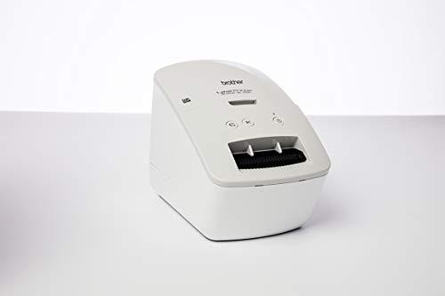 Brother PT QL600G Impresora de Etiquetas Gris QL600GXX1 USB/Mono