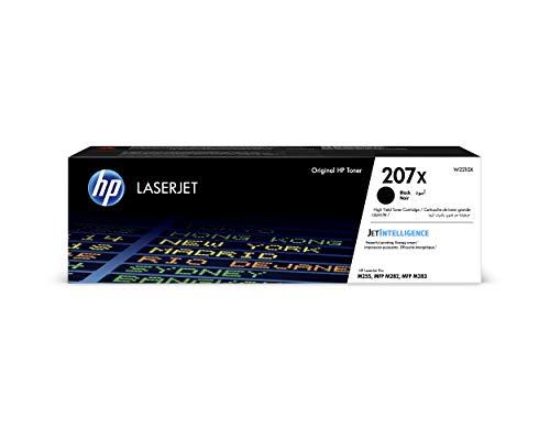 HP 207X W2210X, Negro, Cartucho Tóner de Alta Capacidad...