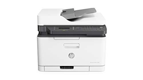 HP Color Laser MFP 179fnw - Impresora láser multifunción,...