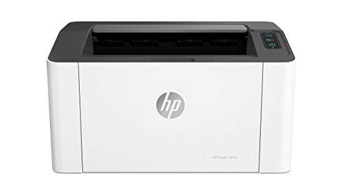 HP Laser 107w - Impresora láser monocromo, Wi-Fi, USB 2.0...