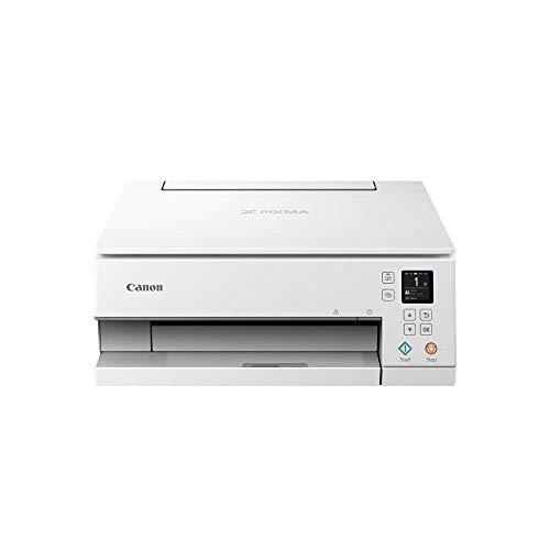 Impresora Multifuncional Canon PIXMA TS6351 Blanca Wifi de...