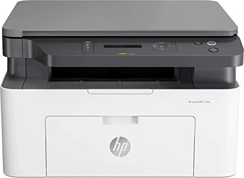HP Laser MFP 135w - Impresora láser multifunción, monocromo,...
