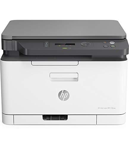HP Color Laser MFP 178nw - Impresora láser multifunción, color,...
