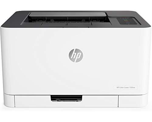 HP Color Laser 150nw - Impresora láser (18 ppm/4 ppm, Bandeja de...