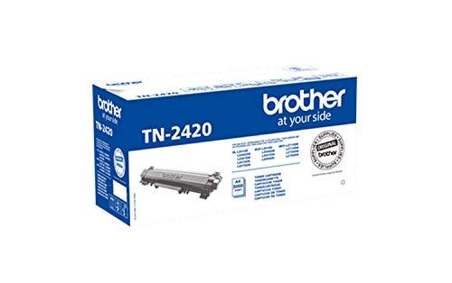 Brother TN2420 Tóner negro original de larga duración para las...