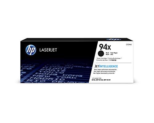 HP 94X CF294X, Negro, Cartucho Tóner de Alta Capacidad Original,...