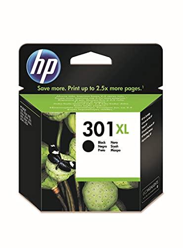 HP 301XL CH563EE, Negro, Cartucho de Tinta de Alta Capacidad...
