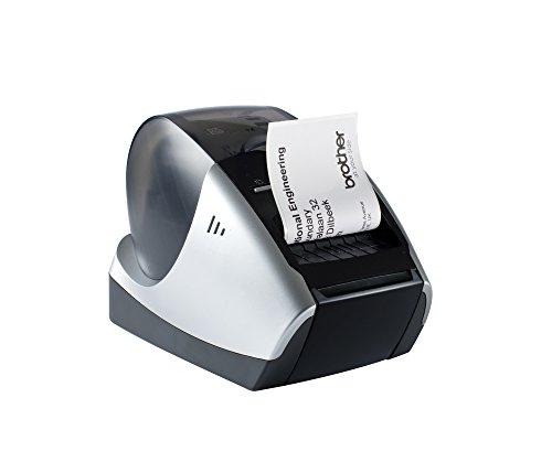 Brother QL570 - Impresora de etiquetas con tecnología térmica...