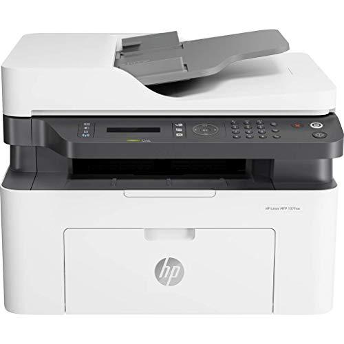 HP Laser MFP 137fnw - Impresora láser multifunción, monocromo,...