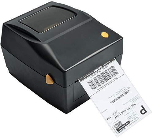 Impresora de etiquetas Impresora térmica de etiquetas Puerto USB...