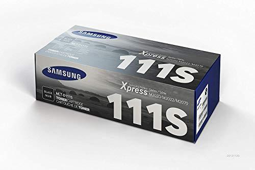 Samsung MLT-D111S, SU810A, Negro, Cartucho Tóner Original, de...