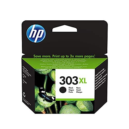HP 303XL T6N04AE, Negro, Cartucho de Tinta de Alta Capacidad,...