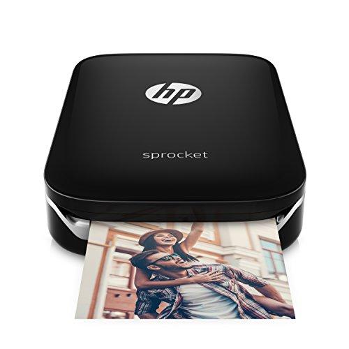 HP Sprocket - Impresora fotográfica instantánea portátil