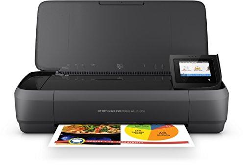 HP OfficeJet 250 Mobile AiO - Impresora multifunción tinta,...