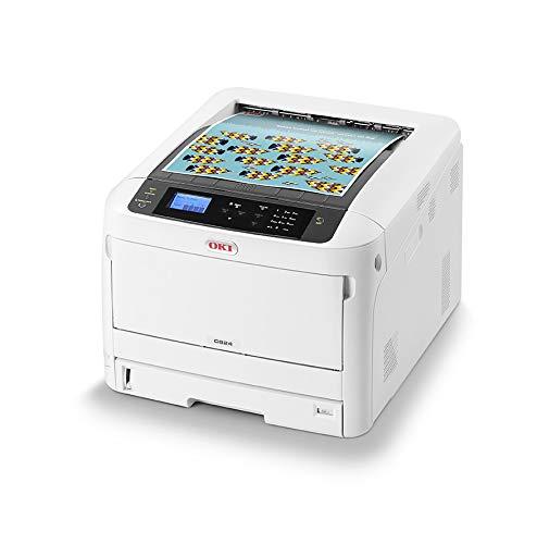 OKI C824dn Color 1200 x 600 dpi A3 - Impresora láser (LED,...