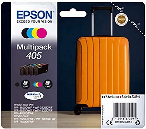 Epson C13T05G64010 Tinta (4) 1 x 7,6 ml, 1350 p ginas Negro 3 x...