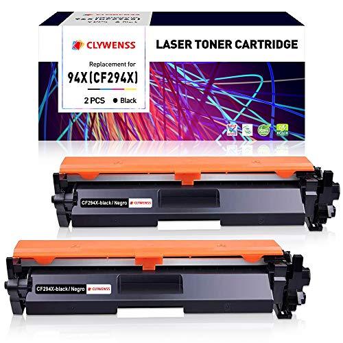 Clywenss 94X CF294X High Yield Cartuchos de tóner Compatible...