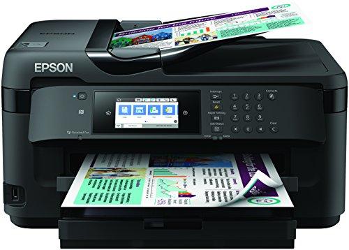 Epson WorkForce WF-7715DWF - Impresora, color negro