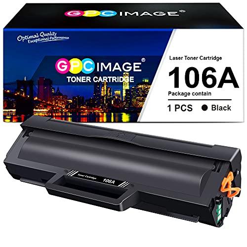 GPC Image 106A Cartuchos de tóner Compatible para HP 106A W1106A...