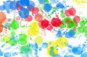 Puntos de colores tipo manchas