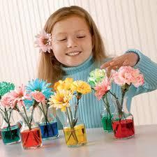 flores con tinta