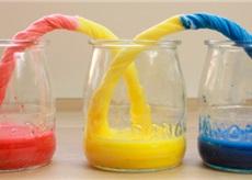 Tinta a4toner experimento de capilaridad foto 3
