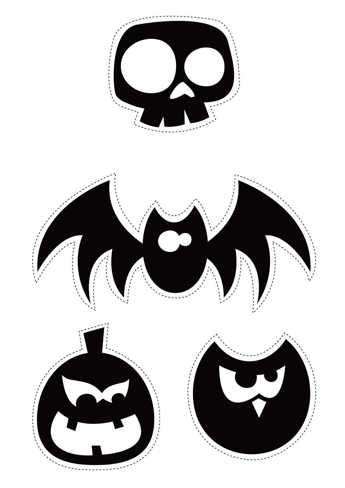 Plantillas De Murcielagos Para Halloween. Trendy With Plantillas De ...