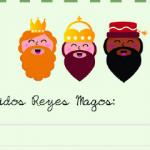 Cartas a Papa Noel y los Reyes Magos para imprimir