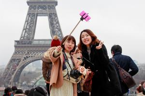 turista selfie