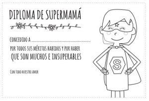diploma de supermama 1