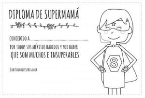 diploma de supermama