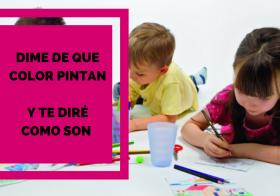 De que color pintan los niños