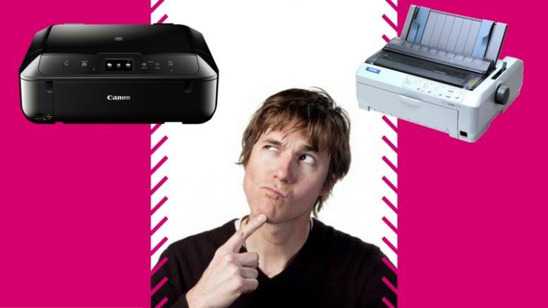 que impresora escoger