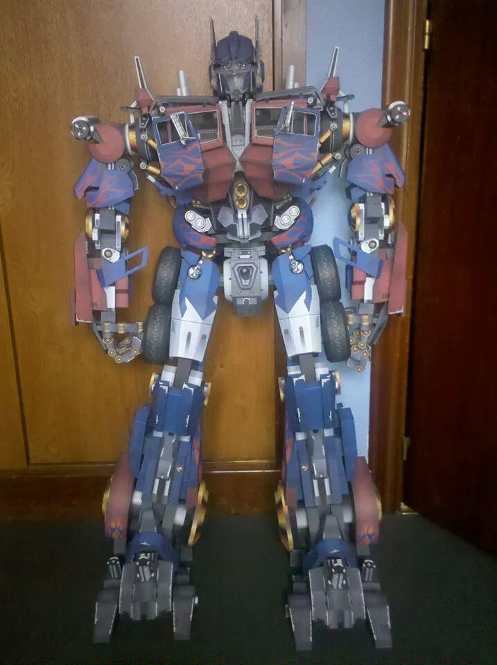 papercraft transformer