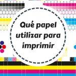 Papel para imprimir