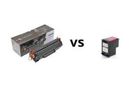 cartuchos de tinta vs toner laser