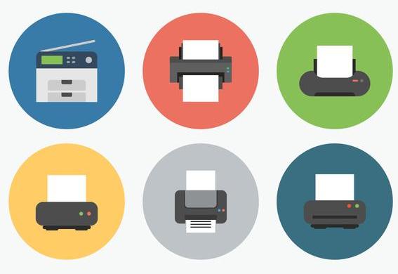 impresoras iconos