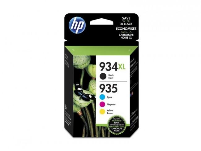 HP pack de 4 cartuchos de tinta 934XL /935XL negro/cyan/magenta/amarilla X4E14AE