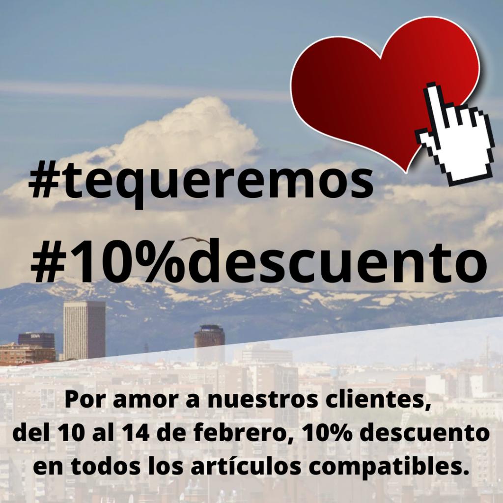 Sant Valentín 10%