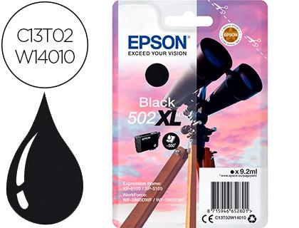 tinta 502xl Epson negra