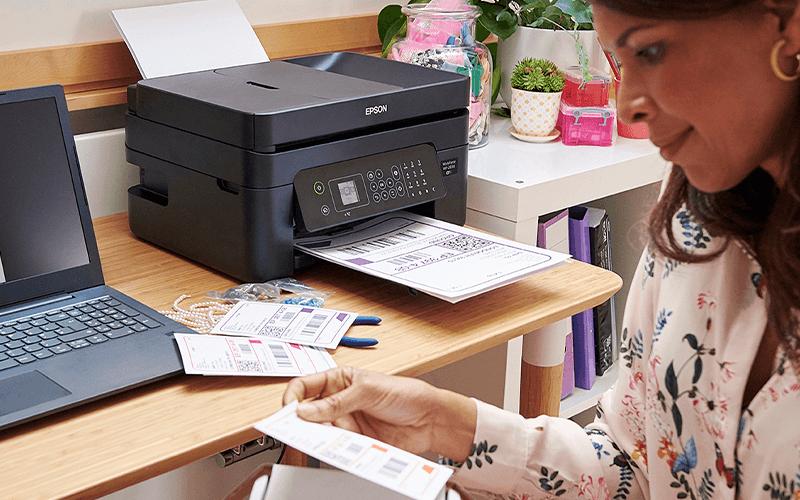 Cartuchos e Impresora Epson WF-2835DWF