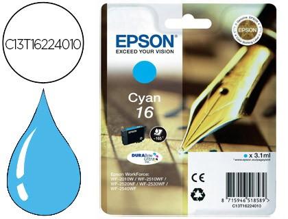 Epson 16 cartucho cian original