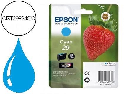 Cartuchos de tinta Epson 29 cían