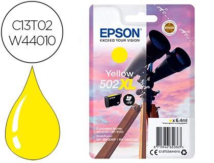 Tinta original 502xl amarilla