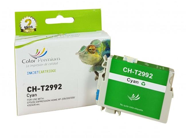 Cartucho compatible 29xl cian