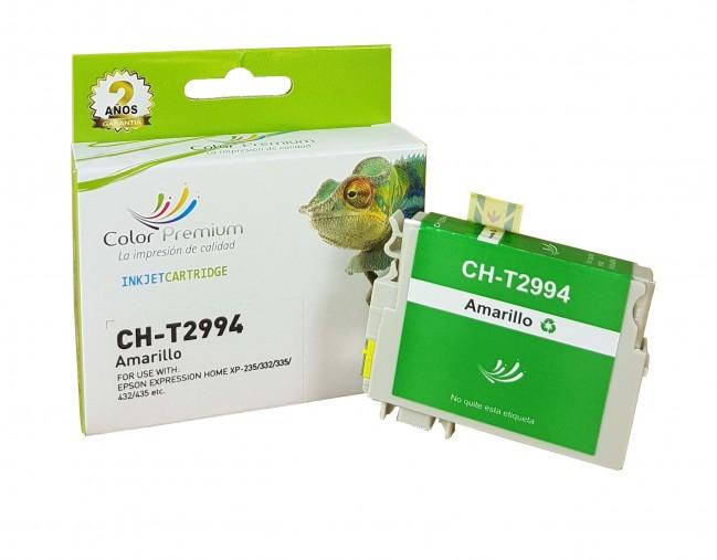 Cartucho de tinta amarillo compatible 29XL