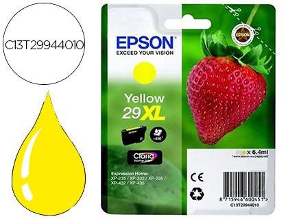 tinta Epson 29xl amarillo original