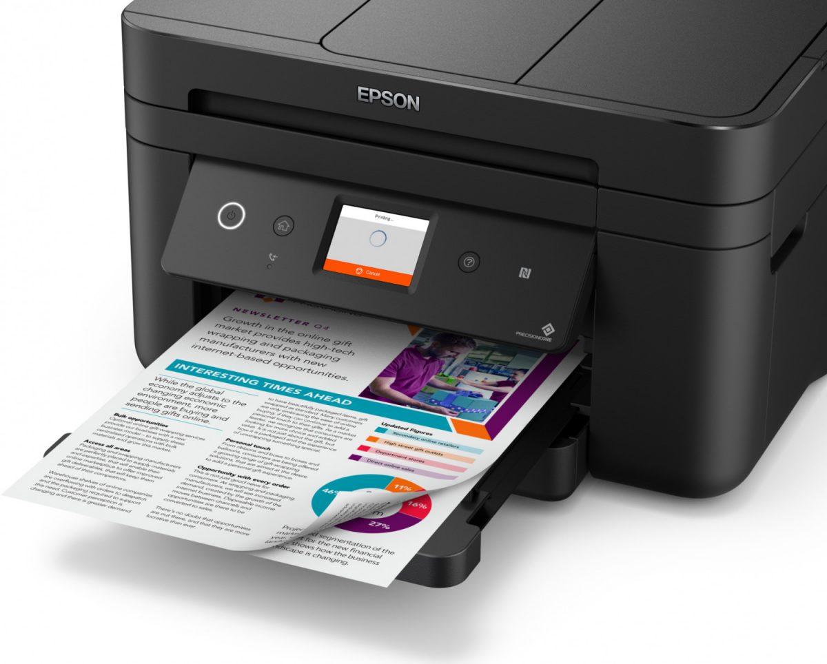 Cartuchos e Impresora Epson WorkForce WF-2860 DWF