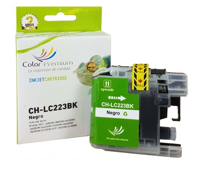 Cartucho LC223 compatible negro