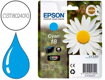 tinta Epson 18 azul